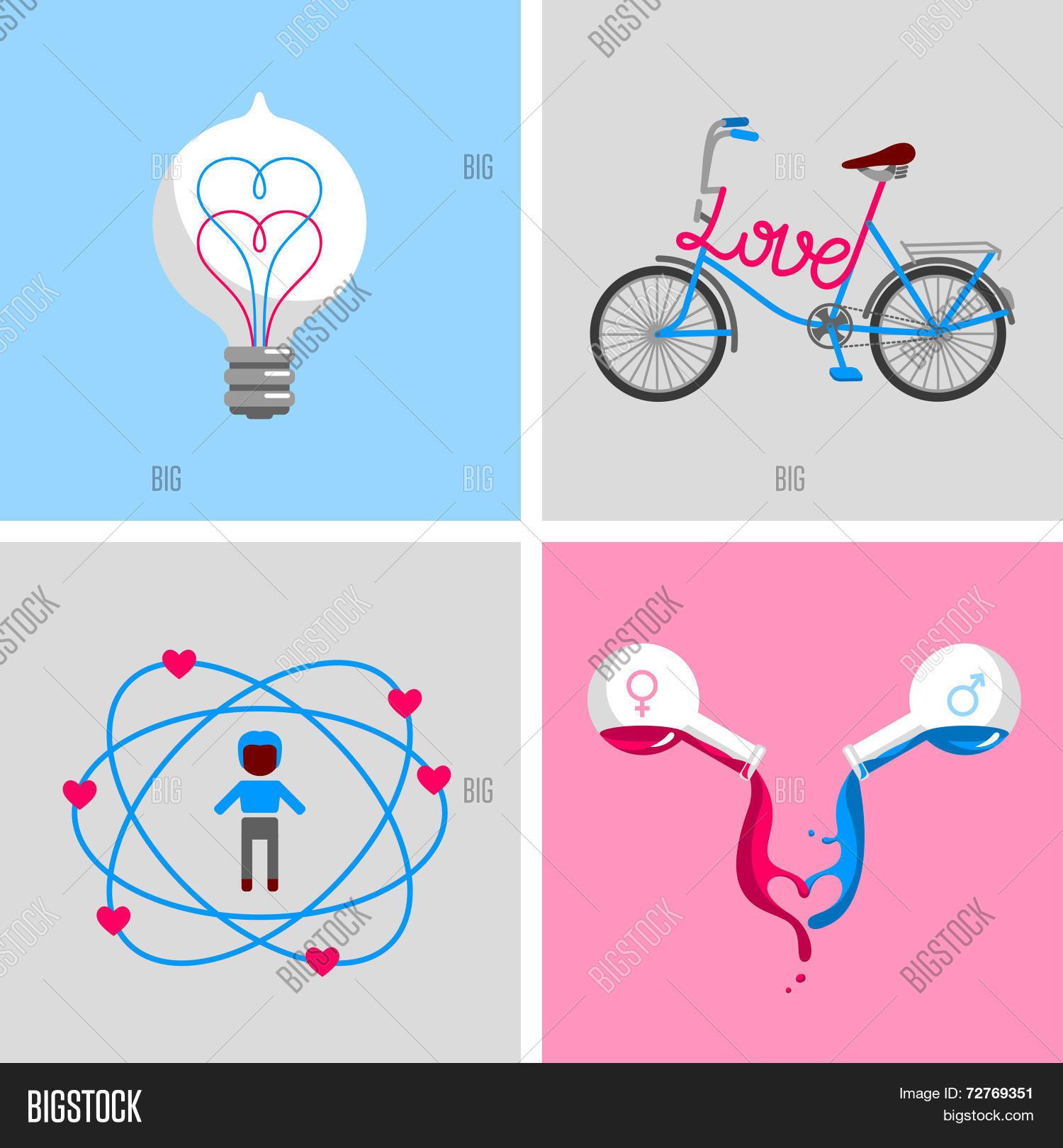 Love Signs Symbols Vector Photo Free Trial Bigstock