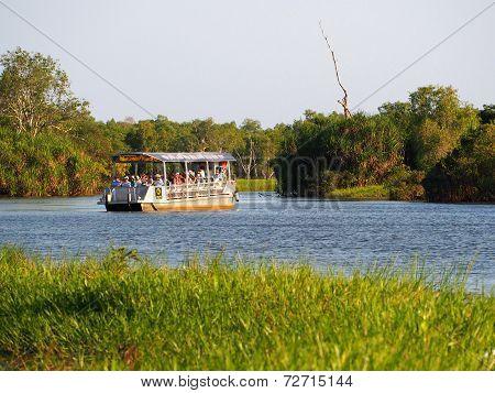 Yellow Waters Tourist Cruise, Kakadu, Australia