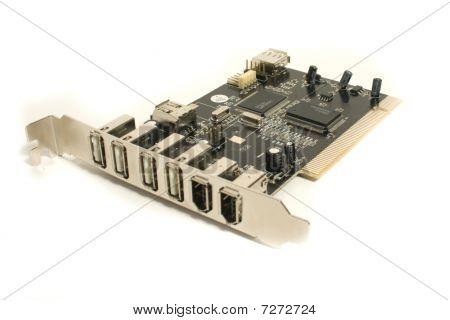 Black computer board