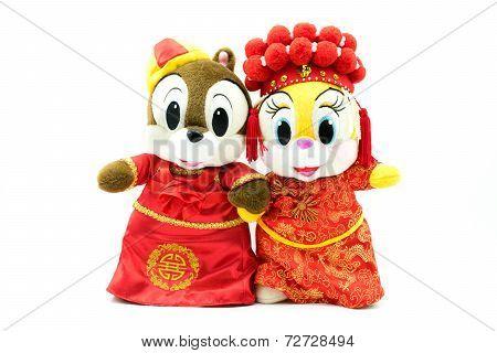 Chinese Wedding Dolls