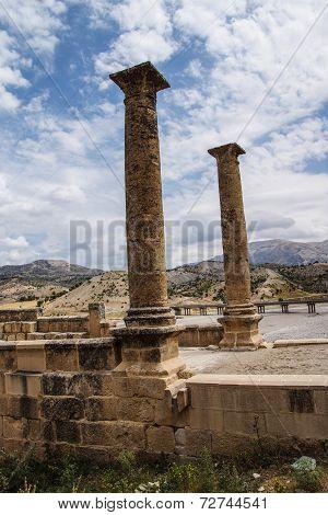 Roman Bridge At Cendere