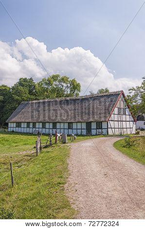Esrum Kloster Old Barn Rear
