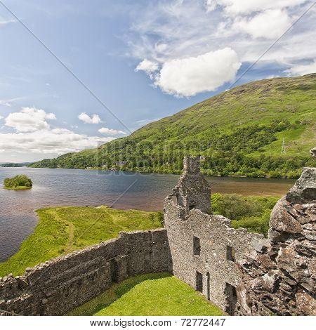 Loch Awe From Kilchurn Castle