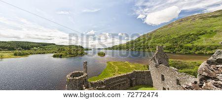 Kilchurn Castle Panorama
