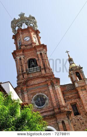 Church In Puerto Vallarta, Jalisco, Mexico