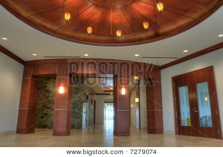 HDR of Lobby Interior