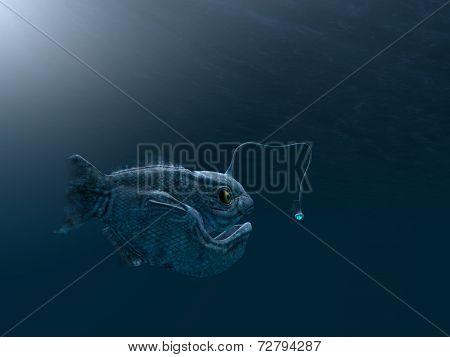 Ancient Angler Fish