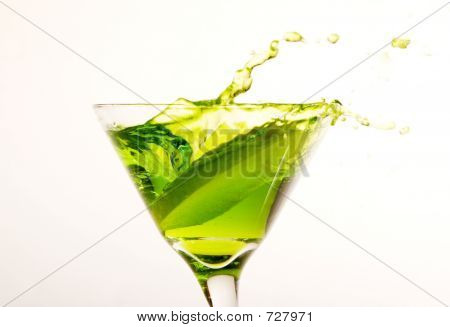 Apple Martini Splash
