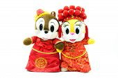 anniversary background bridal bride bridegroom cartoon celebrate celebration ceremony character cheer cheerful chinese clay color colorful congratulations costume couple cultural culture cutout doll figurine figurines floral gift handicraft happiness happ poster