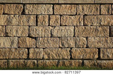 Freestone Wall