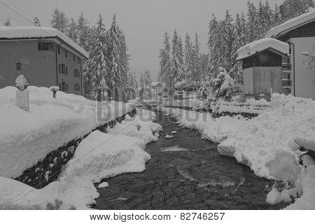 Madesimo, Winter Season.