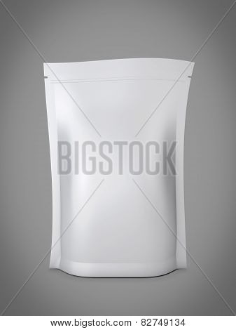 Blank Foil Food Or Drink Bag Packaging With Valve And Seal