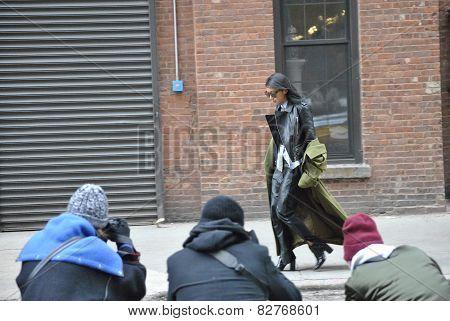 fashionweek new york city february 2015
