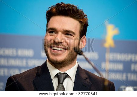 BERLIN, GERMANY - FEBRUARY 13:  Richard Madden 'Cinderella' photocall.65th Berlinale International Film Festival at Grand Hyatt Hotel on February 13, 2015 in Berlin, Germany