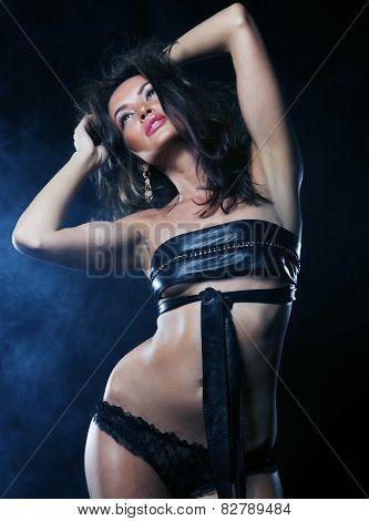 lady in the night club