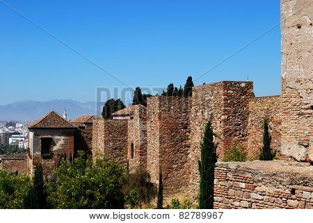 Citadel walls, Malaga.