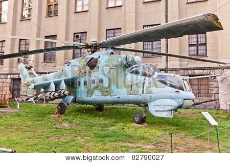 Soviet Attack Helicopter Mil Mi-24D