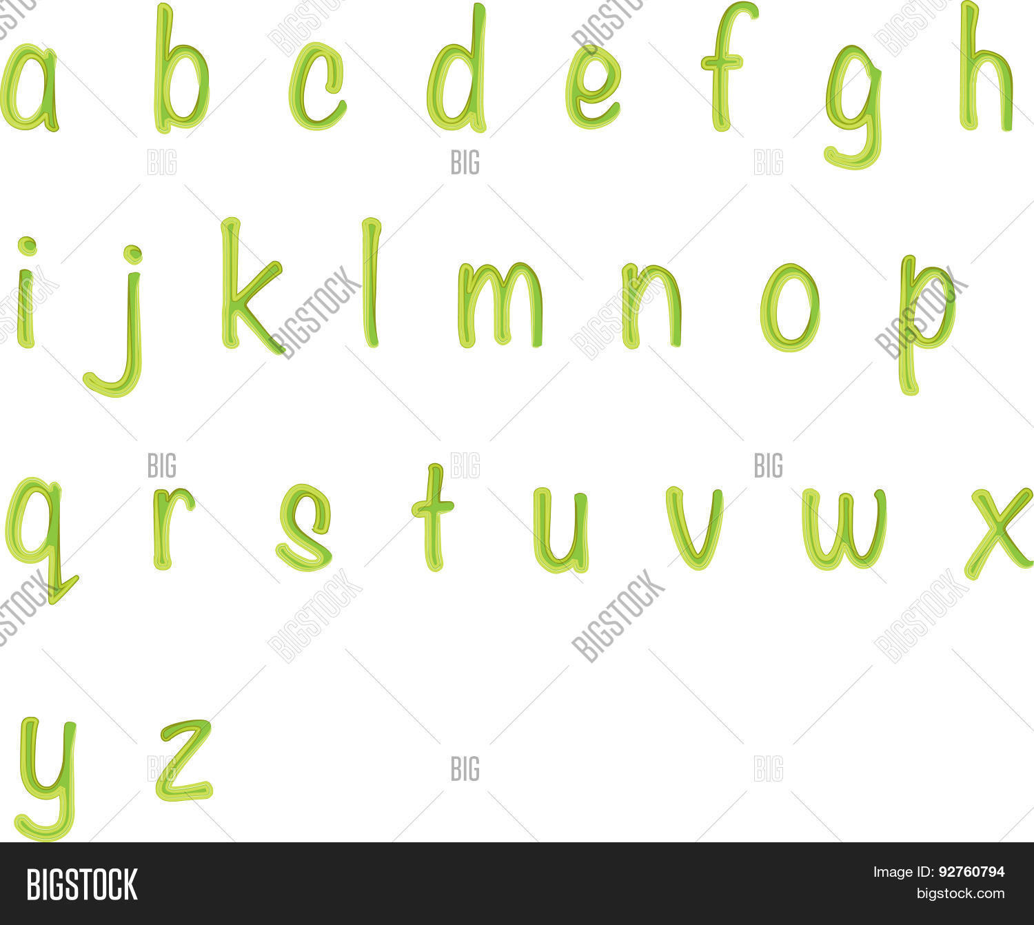 Small Letters Z Vector & Photo (Free Trial) | Bigstock