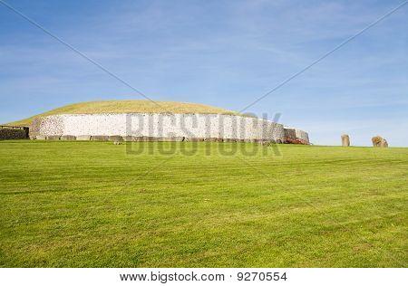 Unesco World Heritage - Newgrange In Ireland