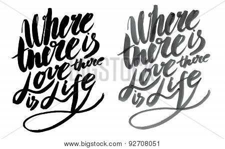 Vector Handmade Motivation Quotes