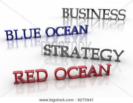 Business Blue Ocean Red Ocean Strategy
