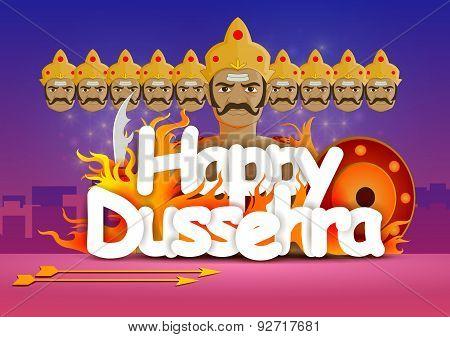 Happy Dussehra wallpaper background