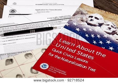 Usa Civics Lessons For Citizenship And Application