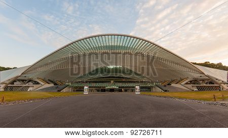 Liège Guillemins Trainstation in Belgium
