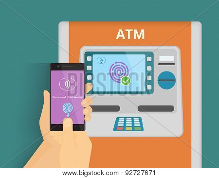 Mobile access to ATM