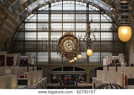 the museum D'Orsay in Paris France.
