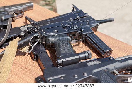 Russian Firearms. Submachine Gun Kedr
