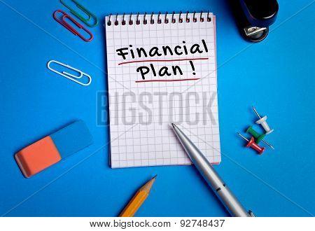 Financial Plan Word
