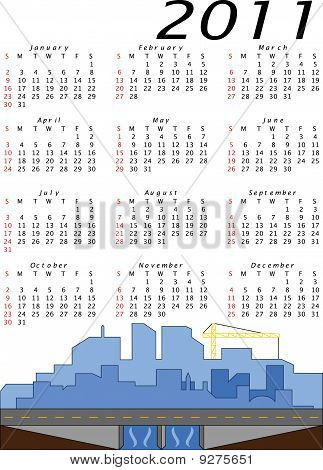 Print2011 Engineering and Construction Calendar