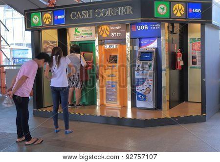 ATM cash machine Bangkok