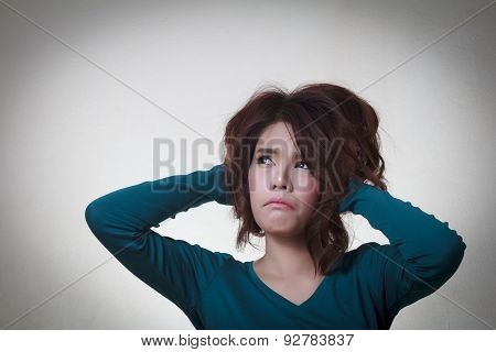 Woman Stress