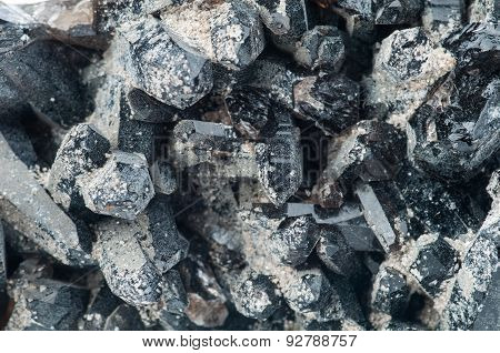 Magnetite mineral background