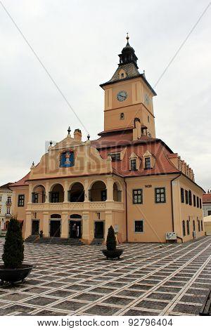 Brasov streets - Old Center - City Hall