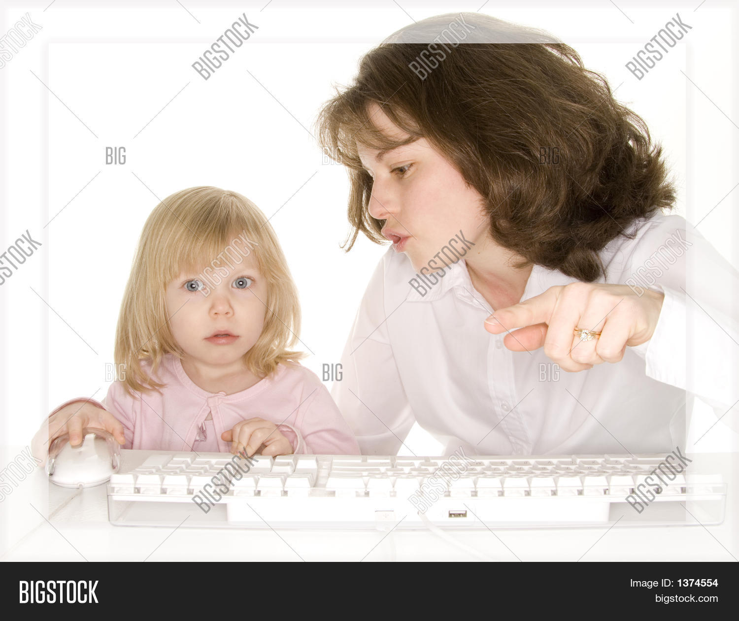 Mother Trying Explain Image & Photo (Free Trial) | Bigstock