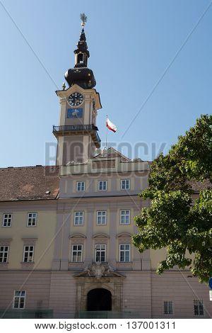 Parliament building - Villa in Linz - Austria