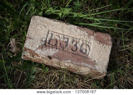 Old bricks produced in Russia up to 1917
