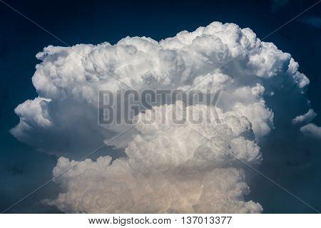 Cloudscape With Cumulonimbus Clouds