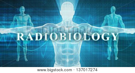 Radiobiology as a Medical Specialty Field or Department 3D Rendering