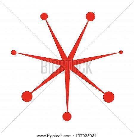 spark retro party isolated icon design, vector illustration  graphic