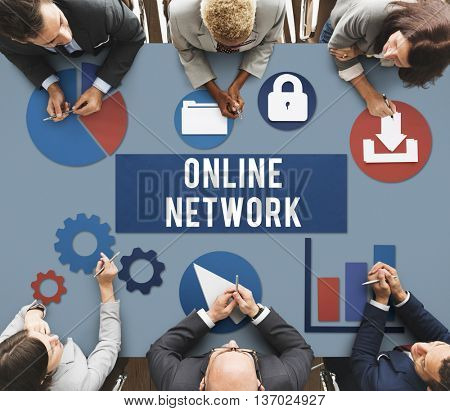 Online Network Connection Internet Concept