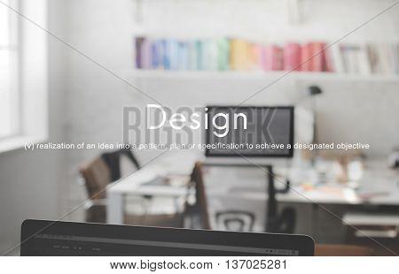 Design Ideas Creative Business Innovation Concept