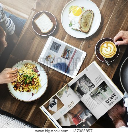Meal Coffee Beverage Cafe Discussion Idea Casual Concept