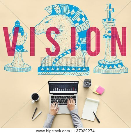 Vision Direction Future Goals Ideas Inspiration Concept