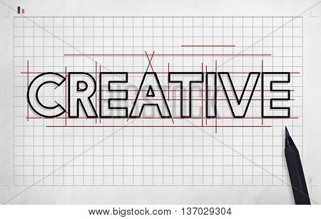 Creative Ideas Design Draft Graphic Concept