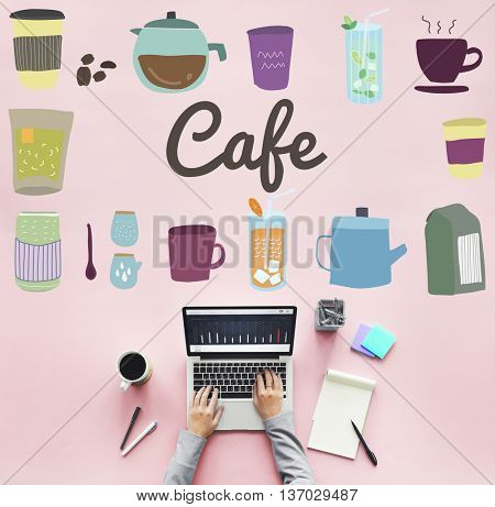 Cafe Restaurant Small Business Bar Coffee Shop Concept