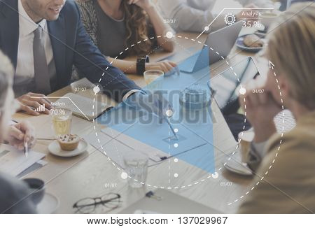 Business Meeting Conference Forum Planning Concept
